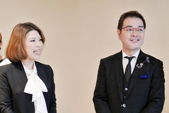 岡井社長と坂本マネージャー