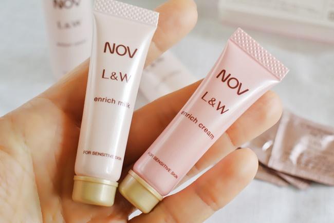 NOVL&W乳液とクリーム